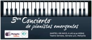 3er Concierto de pianistas emergentes