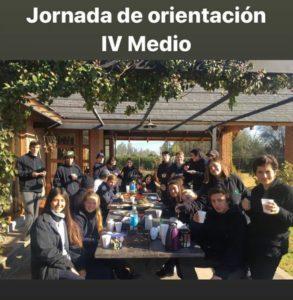 Jornada de Orientación IV° Medio
